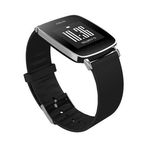Asus Smartwatch VivoWatch S, Fitnessuhr, Pulsmesser, Akkulaufzeit bis zu 10 Tage, Schwarz/Anthrazit, Bluetooth, GPS-Funktion