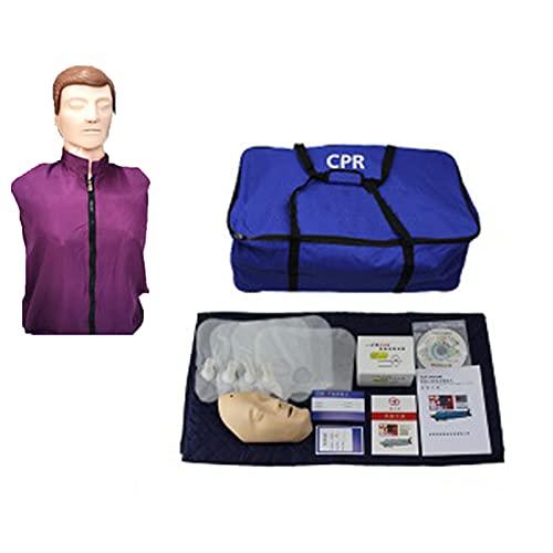 GXGX Humano CPR Manikin Kit CARDIOPULMONARIO RESUMIÓN SIMULACIÓN Media Cuerpo CARDÉN CARDIOPULMONARIO RESUMENCIA MANNUQUIN, TOUCHO Realista, Ayuda DE Entrenamiento DE LA Standard