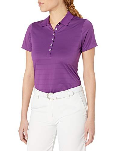 Callaway Playera Golf Manga Corta Cuello Abierto Tipo Polo para Mujer, Púrpura (Purple Magic), XX-Large