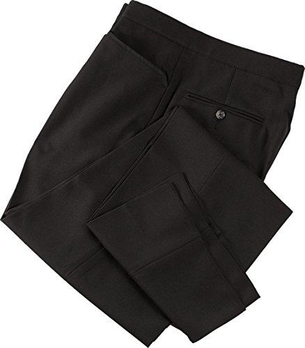 Smitty Basketball Flat Front Referee Pants, Black, 42-Inch
