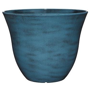GARDENGOODZ Honeysuckle Planter, Patio Pot, 15  Blue Jean