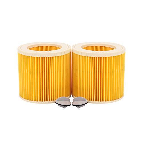Gesh Filtro de cartucho de repuesto para aspiradoras Karcher WD2200 WD2240 A2200 VC6200
