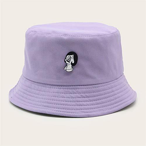 H/A Sombreros plegables Panamá para hombre, para verano, para pesca, senderismo, para hombre y mujer, protector solar universal, AZHAA (color: morado, talla: talla única)