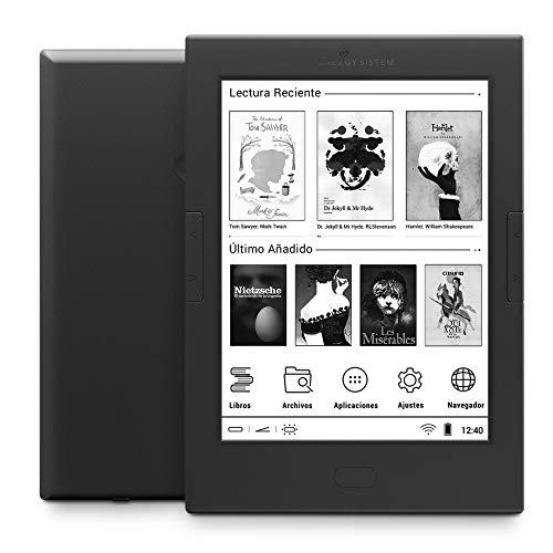 "Energy Sistem eReader Pro 4 - Lector eBooks de 6"" (táctil, Wi-Fi, 8 GB de memoria, Android) color negro"
