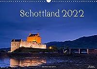 Schottland (Wandkalender 2022 DIN A3 quer): Natur, Architektur, Burgen und Orte aus Schottland im Norden des Vereinigten Koenigreiches (Monatskalender, 14 Seiten )