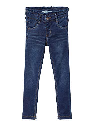 NAME IT Mädchen NMFPOLLY DNMTORAS 3388 Pant NOOS Jeans, Dark Blue Denim, 86