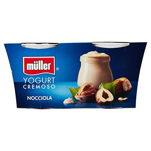 Muller Yogurt Nocciola - Confezione da 2 x 125 g