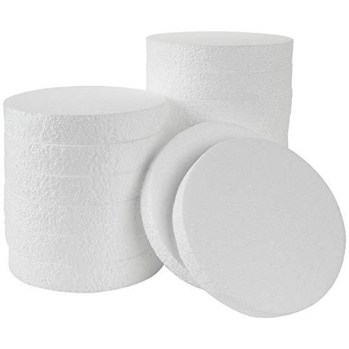 16PCS Foam Circles and Craft Foam