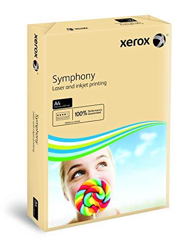 Xerox 003R91959 - Papel de impresión de color, Symphony, Din A3, 80 g/m², 500 hojas para impresora de inyección de tinta y láser,