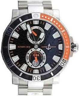 Ulysse Nardin Maxi Marine Diver Power Reserve Titanium Mens Watch 263-90-7M/92