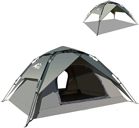 BFULL Camping Tent for 2 3 Persons Instant Pop Up Tent Dome Waterproof Sun Shelters with Removable product image