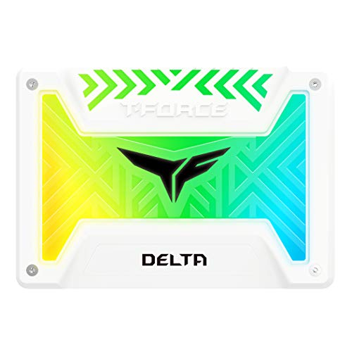 Team Group T-Force Delta RGB 25 Zoll SSD SATA 6G - 250 GB wei
