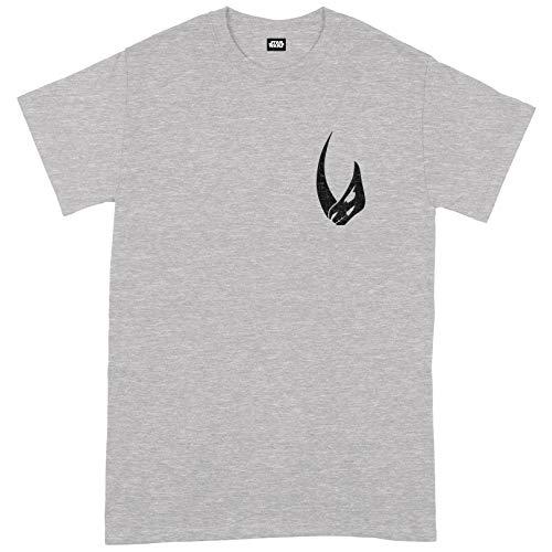 Compatible with Star Wars The Mandalorian More Than I Pocket Oficial Camiseta para Hombre (Medium)