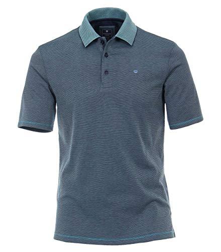 Redmond Herren Pima Cotton Polo-Shirt Gemustert Mit modischer Stickerei 52% Pima Cotton, 48% Polyester