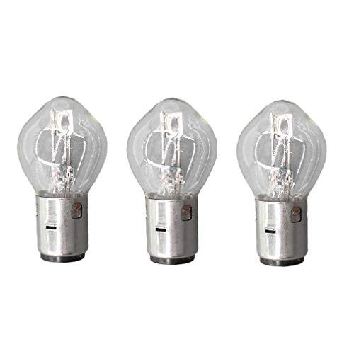 AISEN Lot de 3 ampoules BA20D S2 12 V 35/35 W