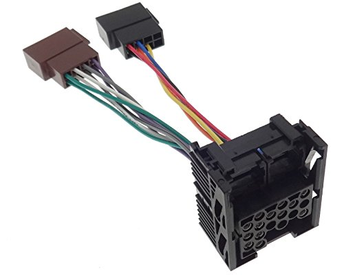 Cable de conexión para Radio ISO, Compatible con BMW MG Mini Cooper Land Rover