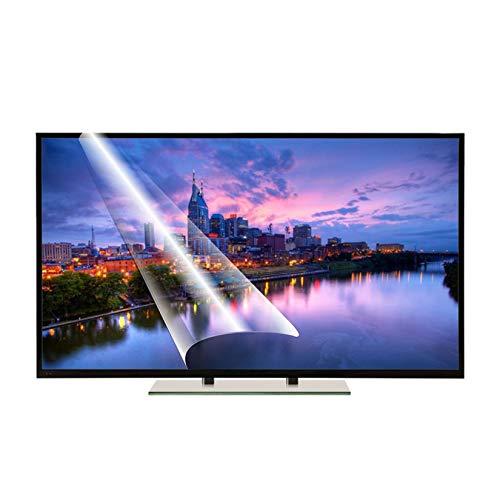 Protector de pantalla anti luz azul para TV de 55 pulgadas Película de filtro antideslumbrante Película protectora mate para monitor de TV de 50-75 pulgadas Tasa de antirreflejos hasta 90%,50 inch