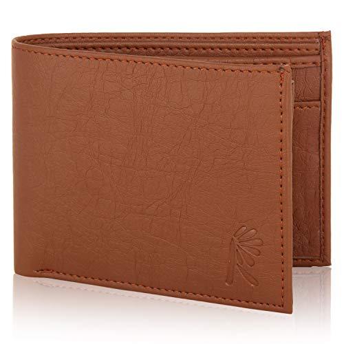 R osset Geldbörse aus Kunstleder, für Herren, langlebig und bequem, für Münzen, Kreditkarten, EC-Karten