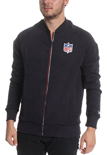New Era heren Zipper Shield Pack Bomber NFL donkerblauw