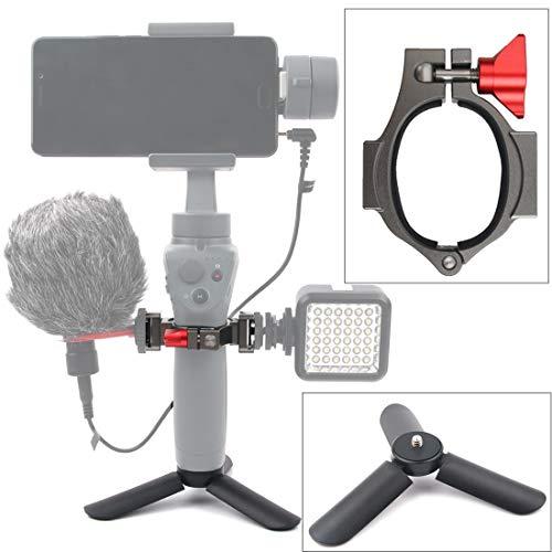 LWL House Support d'extension for Mini trépied + Lampe de Poche for DJI OSMO Mobile 2 Haute qualité