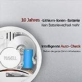 Rauchmelder mit 10-Jahres-Batterie Test