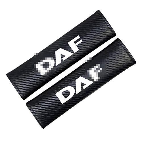 OutdoorKing 2ST Auto-Sicherheitsgurt-Abdeckung Car Styling Auto Schulterpolster-Abdeckung Für DAF Auto XF 95 105 LKW-Zubehör Emblem Car-Styling