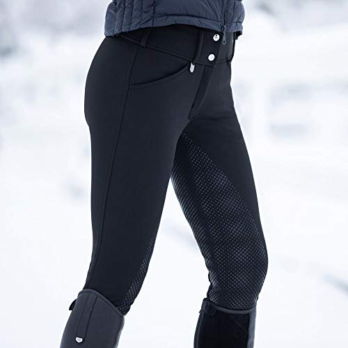 Product Image 4: HORZE Women's Grand Prix Full Seat Breeches – Thermo Softshell
