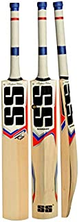 SS Kashmir Willow Leather Ball Cricket Bat, Exclusive Cricket Bat for Adult Full Size with Full Protection Cover Short Handel 2019 Series
