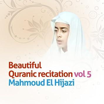 Beautiful Quranic Recitation, Vol. 5 (Quran - Coran - Islam)