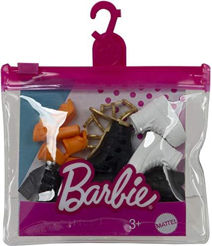 Barbie Fashion Pack zapatos - GXG01 - Lote de 5 zapatos para...