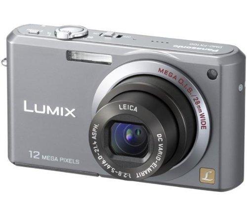 Panasonic DMC-FX100 EG-K Digitalkamera (12 Megapixel, 3,6-fach opt. Zoom, 6,4 cm (2,5 Zoll) Display, Bildstabilisator) schwarz