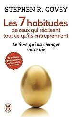 Les 7 habitudes de ceux qui réalisent tout ce qu'ils entreprennent (Format de poche) de Stephen Covey