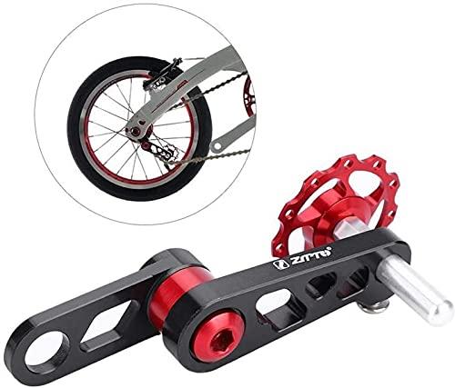 YQwind Guia Cadenas Bicicleta MTB Estabilizador Bicicleta Elíptica Cadena Dial Piñón Modificado Guía De Cremallera Trasera Guía GuíA De Cadena Casete de Bicicleta (Color : Natural)