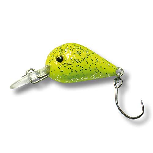 Behr Mini-Wobbler mit Einzelhaken - Bait Yellow. Angelköder Kunstköder