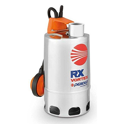 VORTEX Submersible Pump Dirty Water RXm 3/20 5M 0,75Hp 240V Pedrollo
