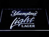 Yuengling Light Lager LED看板 ネオンサイン ライト 電飾 広告用標識 W40cm x H30cm ホワイト