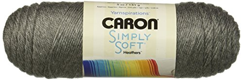 Bulk Buy: Caron Simply Soft (2-Pack) (Heather Grey)