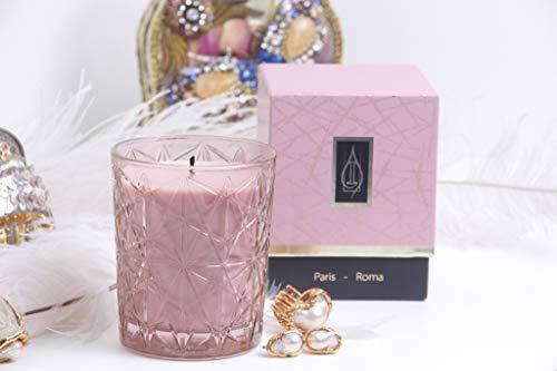potente para casa Driada -Glass Lounge Pink con Acrílico Parisino, velas perfumadas / perfumadas, cristal,…