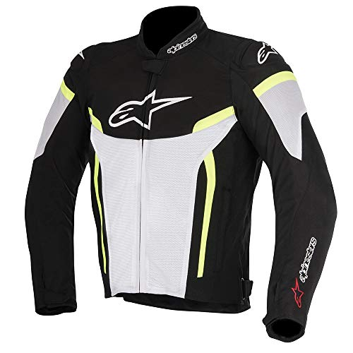 Alpinestars T-gp Plus R V2 Air - Chaqueta de moto, color blanco, negro y...
