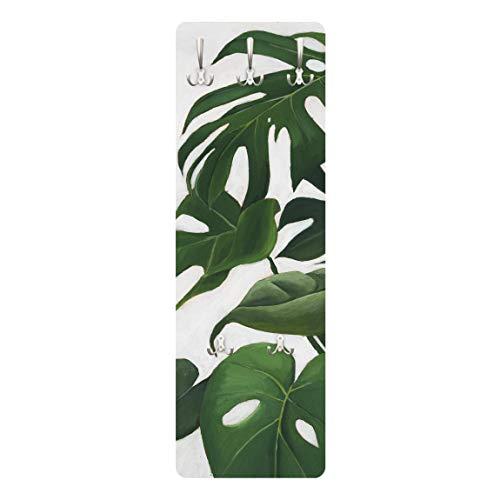 Bilderwelten Perchero Panel Mural Gancho De Pared   Favorite Plants   Monstera 139 x 46cm