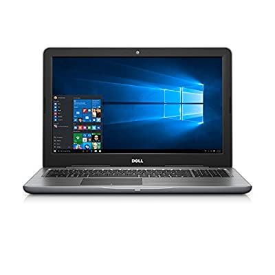 """Dell Inspiron i5565-0017GRY 15.6"""" FHD Laptop (7th Generation AMD A9-9400, 8GB RAM, 1 TB HDD)"""