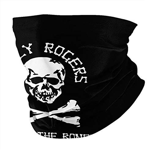 Vfa-103 Fear The Bones Jolly Rogers Unisex multifunctional seamless neck scarf headscarf face mask mask dustproof and sunscreen soft texture