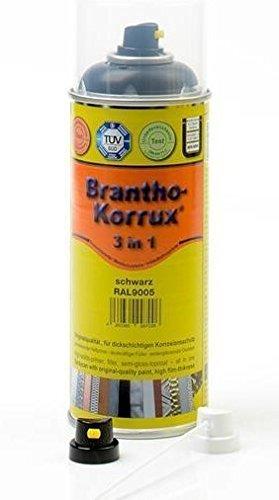 Brantho Korrux 3 in 1 400 ml RAL 7035 lichtgrau, Komfort-Sprühdose, Rostschutzfarbe