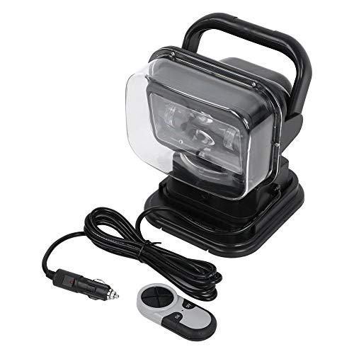 KSTE 60 W LED zoeklicht met afstandsbediening en magnetische basis 360 graden lamp spot, compatibel met auto's