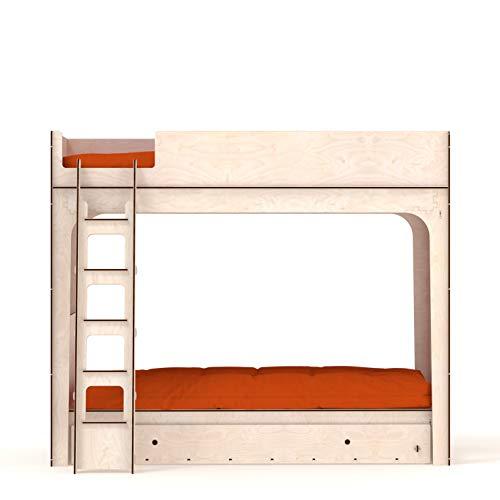L10 – Cama individual de madera (L10 + L6 + L12 (cajón)
