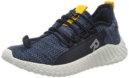 Richter Kinderschuhe Herren Taylor Sneaker, Blau (Atlantic/Orange 7200), 39 EU