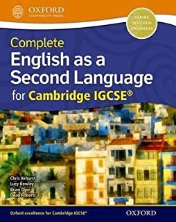 Complete English as a Second Language for Cambridge IGCSE (R) : Student Book - Dean Roberts,Chris Akhurst - 1st Edition