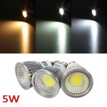 Preisvergleich Produktbild E14 5W 500-550LM Dimmbare COB LED Einbaustrahler Glühlampen AC 220 V