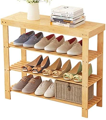ZAIHW Zapatero Simple Moderno Economía Estante para el hogar Dormitorio de Tres Pisos Zapatero Vestíbulo Porche Cubierta para Zapatos 60x28x70cm Taburete para Cambiar Zapatos