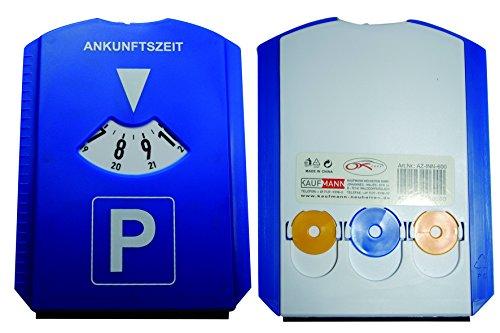 Cartrend 60226 Parkscheibe mit Saugnapf und Einkaufswagen-Chips